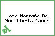 Moto Montaña Del Sur Timbío Cauca