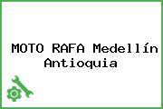 MOTO RAFA Medellín Antioquia
