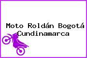 Moto Roldán Bogotá Cundinamarca
