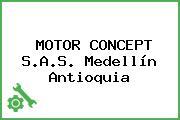 MOTOR CONCEPT S.A.S. Medellín Antioquia
