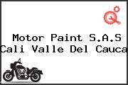 Motor Paint S.A.S Cali Valle Del Cauca