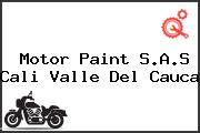 Motor Paint S.A.S Cali Valle Del Cauca