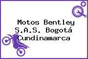 Motos Bentley S.A.S. Bogotá Cundinamarca