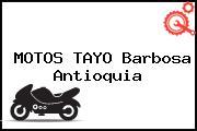 MOTOS TAYO Barbosa Antioquia