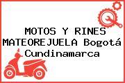 MOTOS Y RINES MATEOREJUELA Bogotá Cundinamarca