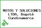 MOTOS Y SOLUCIONES LTDA. Bogotá Cundinamarca