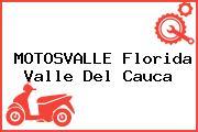 MOTOSVALLE Florida Valle Del Cauca