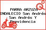 PARRA ARZUZA INDALECIO San Andrés San Andrés Y Providencia