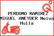 PERDOMO RAMIREZ MIGUEL ANEYDER Neiva Huila