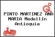 PINTO MARTINEZ ANA MARIA Medellín Antioquia