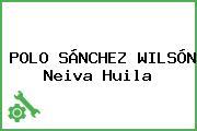 POLO SÁNCHEZ WILSÓN Neiva Huila