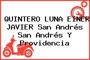 QUINTERO LUNA EINER JAVIER San Andrés San Andrés Y Providencia