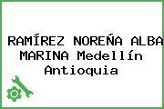 RAMÍREZ NOREÑA ALBA MARINA Medellín Antioquia