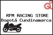 RPM RACING STORE Bogotá Cundinamarca
