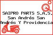 SAIPRO PARTS S.A.S. San Andrés San Andrés Y Providencia