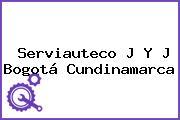 Serviauteco J Y J Bogotá Cundinamarca