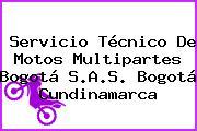 Servicio Técnico De Motos Multipartes Bogotá S.A.S. Bogotá Cundinamarca