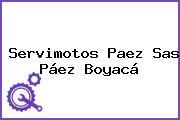 Servimotos Paez Sas Páez Boyacá