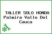 TALLER SOLO HONDA Palmira Valle Del Cauca