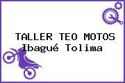 TALLER TEO MOTOS Ibagué Tolima
