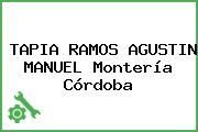 TAPIA RAMOS AGUSTIN MANUEL Montería Córdoba