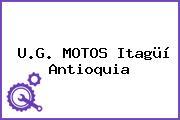 U.G. MOTOS Itagüí Antioquia