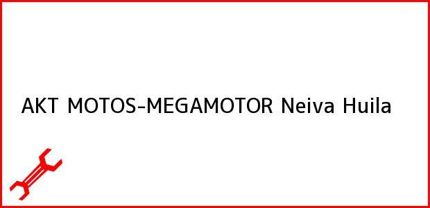 Teléfono, Dirección y otros datos de contacto para AKT MOTOS-MEGAMOTOR, Neiva, Huila, Colombia
