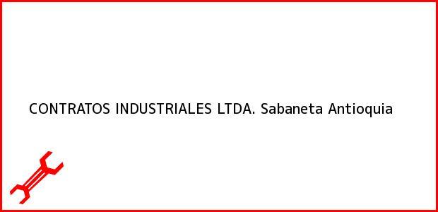 Teléfono, Dirección y otros datos de contacto para CONTRATOS INDUSTRIALES LTDA., Sabaneta, Antioquia, Colombia