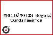 ABC.D®MOTOS Bogotá Cundinamarca