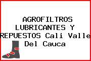 AGROFILTROS LUBRICANTES Y REPUESTOS Cali Valle Del Cauca