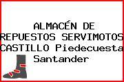 ALMACÉN DE REPUESTOS SERVIMOTOS CASTILLO Piedecuesta Santander
