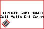 ALMACÉN GABY-HONDA Cali Valle Del Cauca