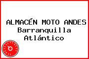ALMACÉN MOTO ANDES Barranquilla Atlántico
