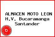 ALMACEN MOTO LEON H.V. Bucaramanga Santander