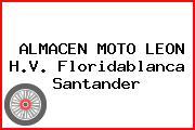 ALMACEN MOTO LEON H.V. Floridablanca Santander