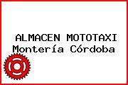 ALMACEN MOTOTAXI Montería Córdoba