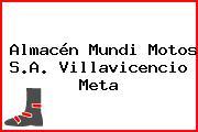 Almacén Mundi Motos S.A. Villavicencio Meta