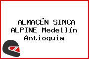 ALMACÉN SIMCA ALPINE Medellín Antioquia