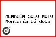 ALMACÉN SOLO MOTO Montería Córdoba