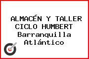 ALMACÉN Y TALLER CICLO HUMBERT Barranquilla Atlántico