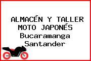 ALMACÉN Y TALLER MOTO JAPONÉS Bucaramanga Santander