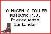 ALMACEN Y TALLER MOTOCAR P.J. Piedecuesta Santander