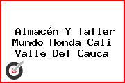 Almacén Y Taller Mundo Honda Cali Valle Del Cauca