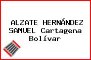 ALZATE HERNÁNDEZ SAMUEL Cartagena Bolívar