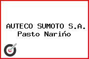 AUTECO SUMOTO S.A. Pasto Nariño