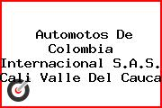 Automotos De Colombia Internacional S.A.S. Cali Valle Del Cauca
