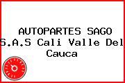 AUTOPARTES SAGO S.A.S Cali Valle Del Cauca