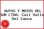 AUTOS Y MOTOS DEL SUR LTDA. Cali Valle Del Cauca
