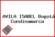 AVILA ISABEL Bogotá Cundinamarca