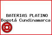 BATERIAS PLATINO Bogotá Cundinamarca